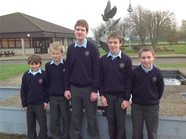 1st Year Science Quiz winners