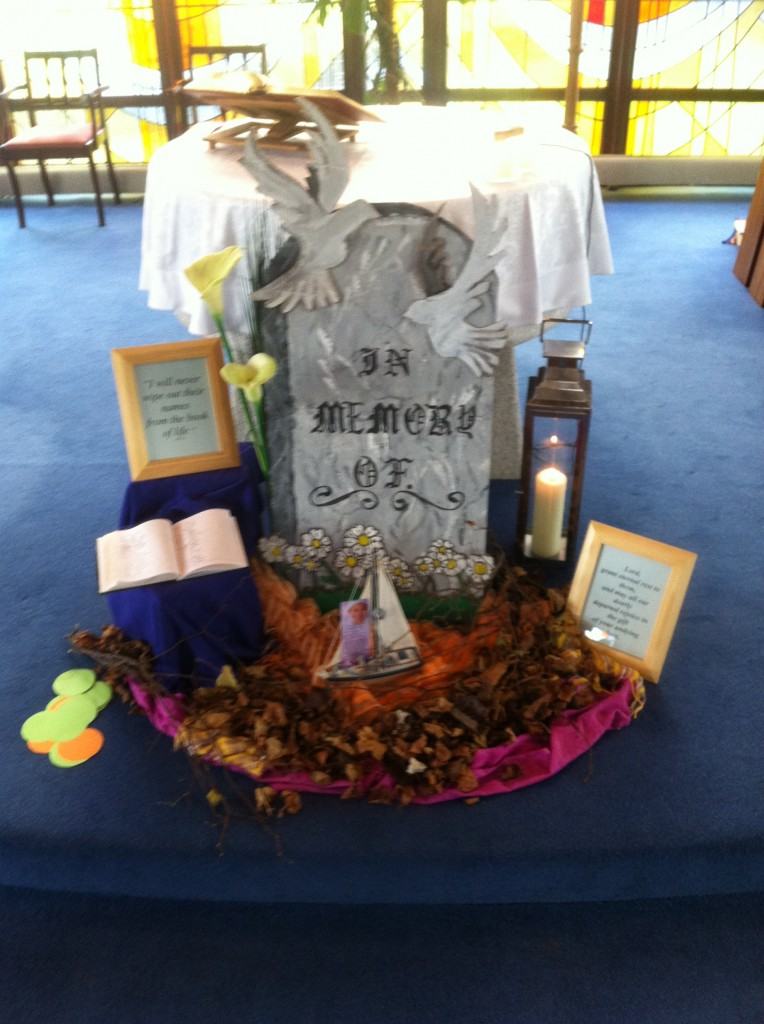 Nov church display