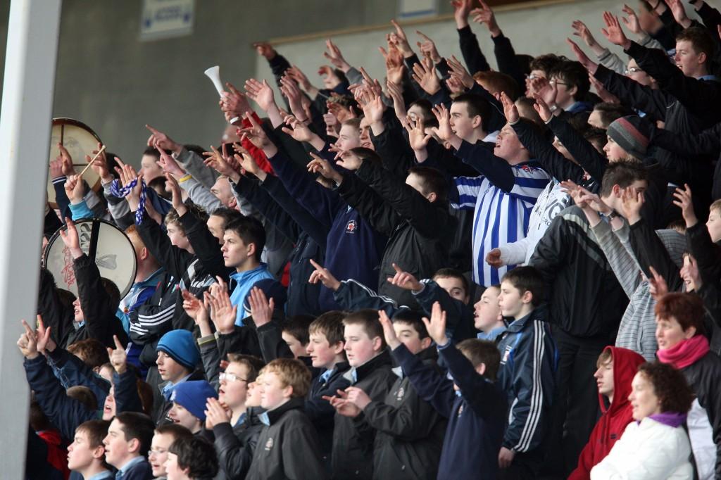 U-14 Final supporters