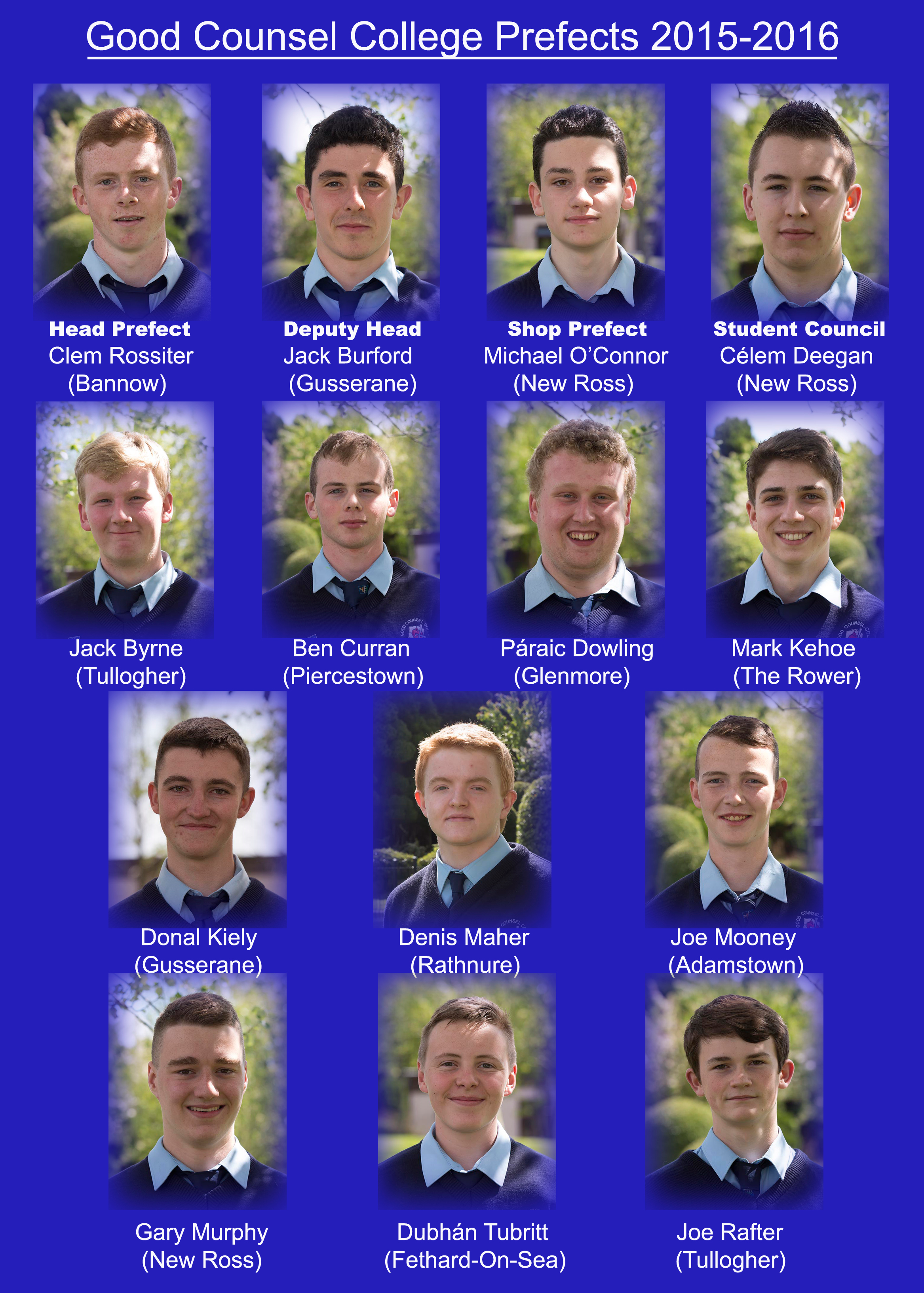 Prefects 2015-16