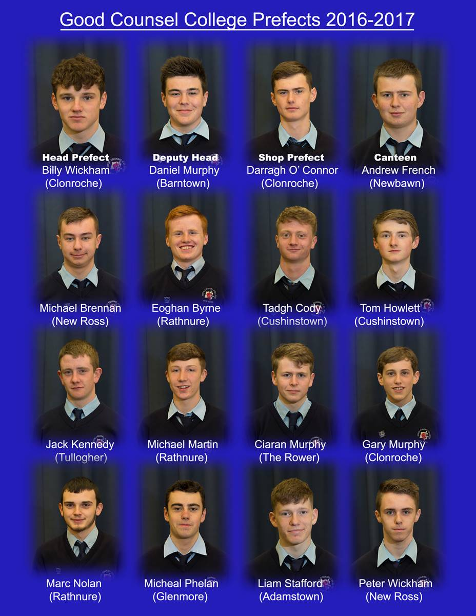 Prefects 201617